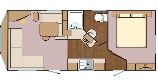 Seagull Extra Warm Dog Friendly (New for 2018) Floorplan