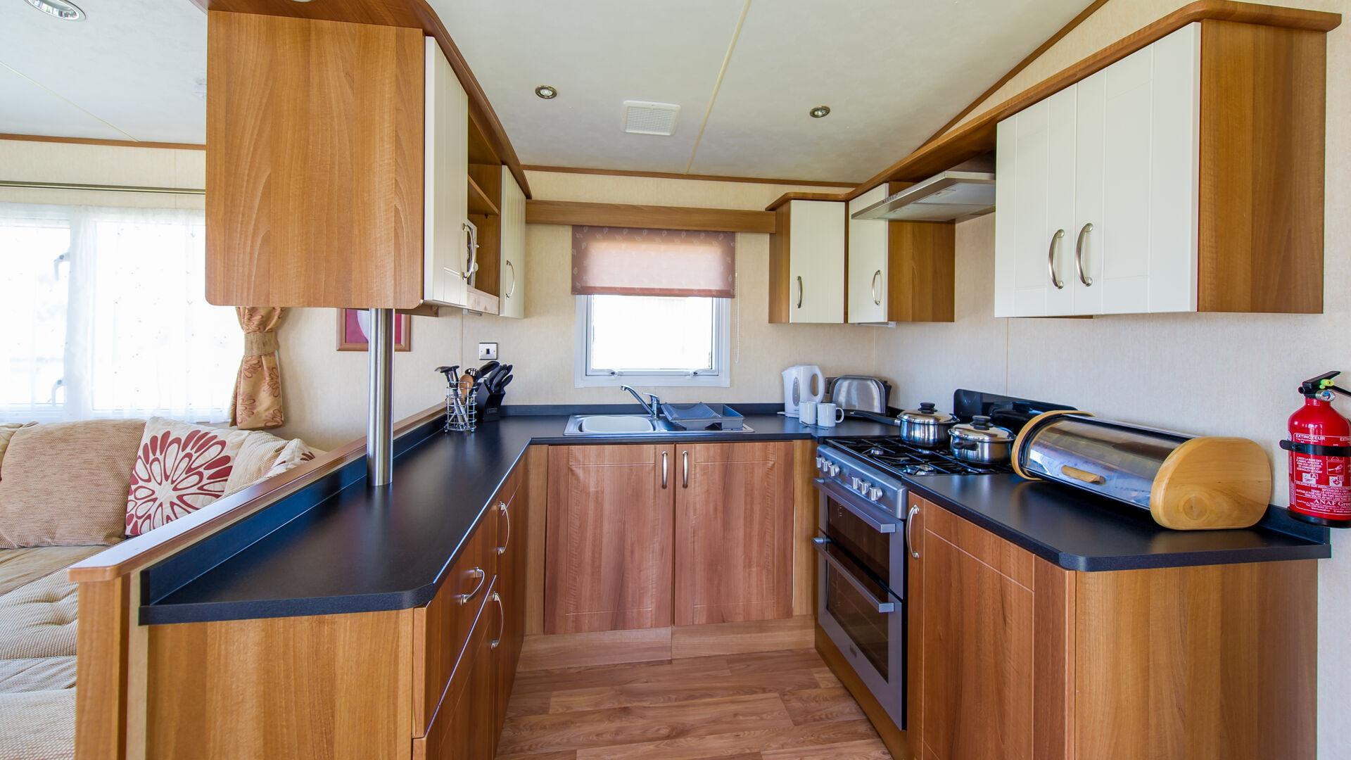 swan 32 static caravan with 2 bedrooms for hire at westward ho